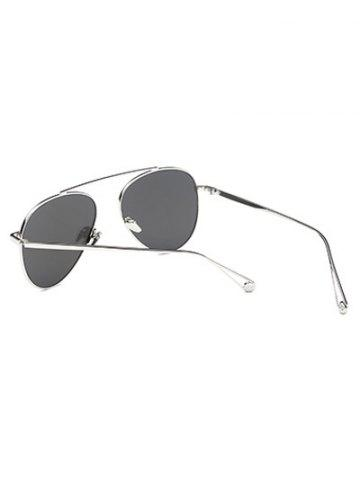 Streetwear Lightweight Metal Mirrored Pilot Sunglasses от Rosegal.com INT