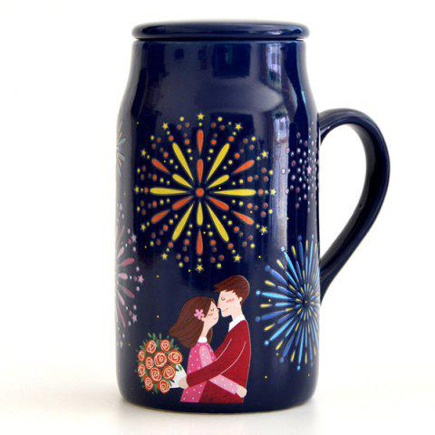 Latest Romantic Night Lovers Magic Color Changing Mug
