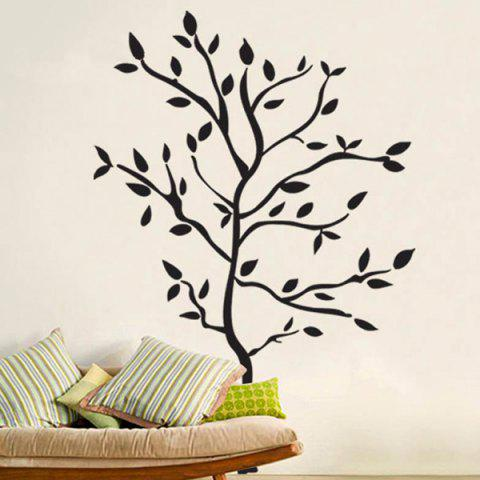 Sale Removable Protection Small Tree Vinyl Wall Decal Stickers - BLACK  Mobile