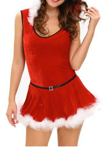 New Hooded Santa Claus Costume
