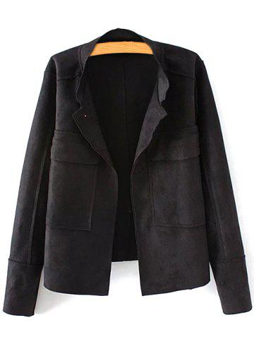 Online Suede Jacket - 3XL BLACK Mobile