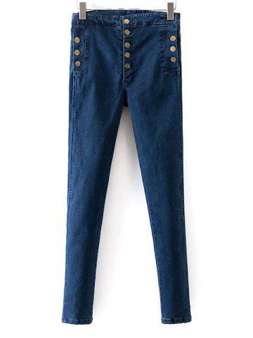 Affordable Skinny Stretchy Jeans BLUE 28