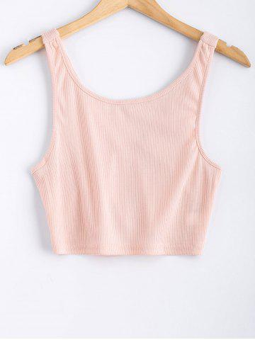Affordable Straps Cropped Tank Top