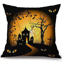Decorative Soft Happy Halloween Pillow Case