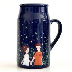Glowworm Night Lovers Magic Color Changing Mug -