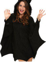 Bat Wings Costume - BLACK