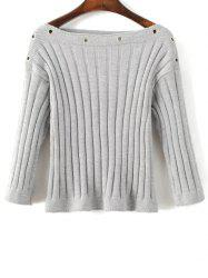 Ribbed Jumper -