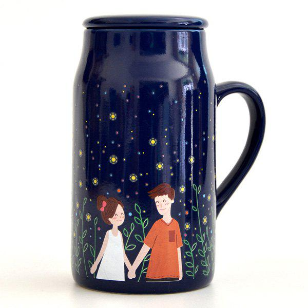 Hot Glowworm Night Lovers Magic Color Changing Mug