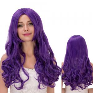 Long Centre Parting Shaggy Wavy Synthetic Lolita Wig