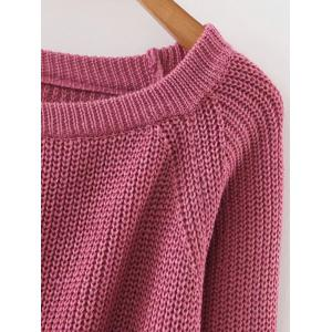 Lace Up Pullover Jumper -