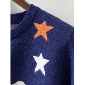 Cloud Star Jacquard Knit Jumper -