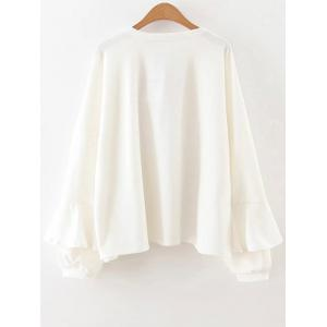 Long Sleeve Frilly Top -