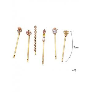 Faux strass cristal Hairpin -