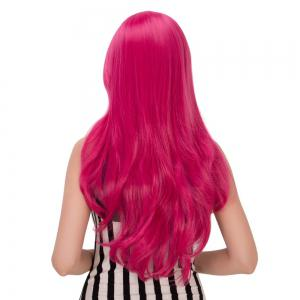 Wavy Long Tail Adduction Oblique Bang Lolita Wig -