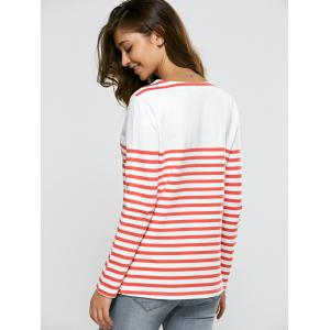Striped Casual Sweater -