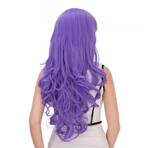 Long Shaggy Wavy Inclined Bang Synthetic Lolita Wig -