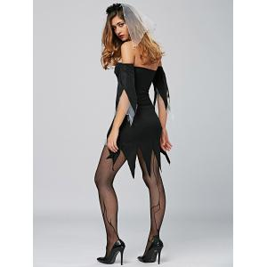 Vampire Cosplay Halloween Dress -