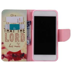 Joday Letter Pattern Wallet Phone Case For iPhone 7 Plus -