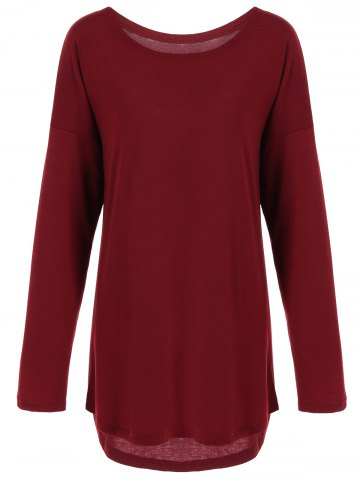 Store Long Sleeves High Low Dress