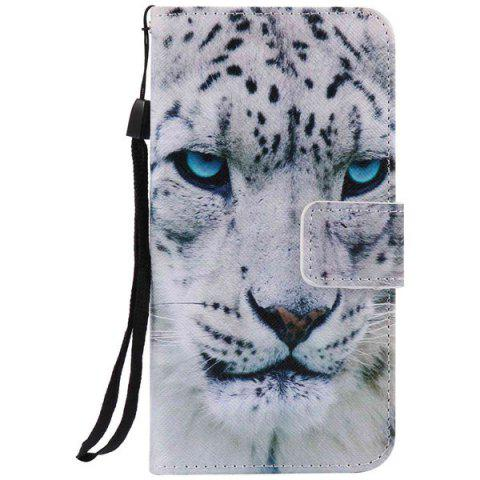 Cheap Wallet Design Leopard Pattern Phone Case For iPhone 7