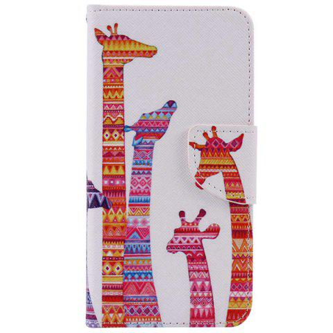Best Gifaffe Pattern Wallet Design Phone Case For iPhone 7 Plus