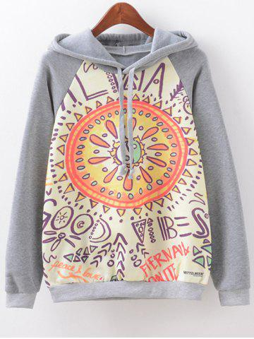 Outfit Eight Diagrams Print Hoodie
