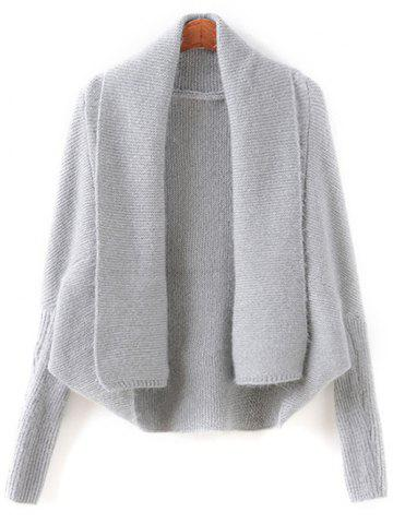 Sale Batwing Sleeve Convertible Cape Cardigan