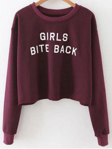 Best Cropped Drop Shoulder Sweatshirt