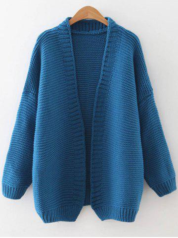 Buy Drop Shoulder Open Front Cardigan
