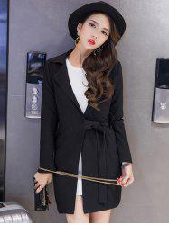 Tied Blazer with Pocket