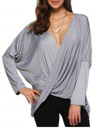 Asymmetric Loose Blouse -