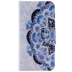 Ethnic Flower Pattern Wallet Phone Case For iPhone 7 Plus -