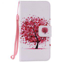 Wallet Design Tree Pattern Phone Case For iPhone 7 -