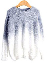 High Low Ombre Sweater