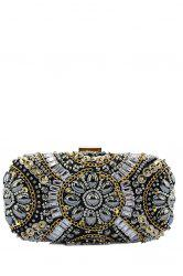 Gorgeous Rhinestone Chains Evening Bag
