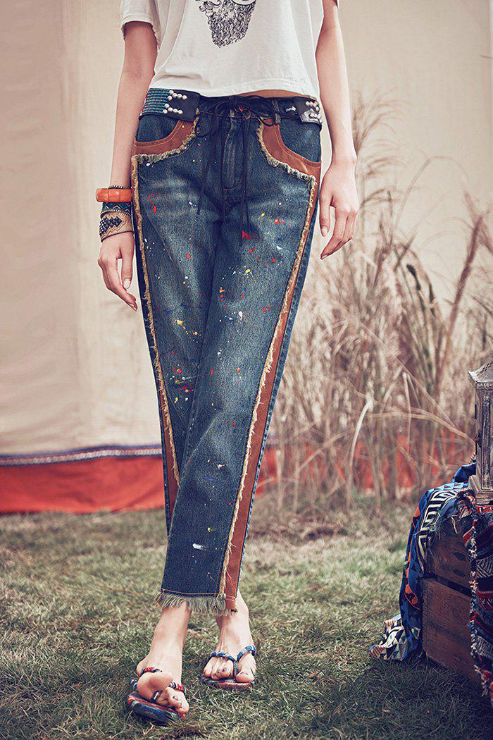 Trendy Ankle Length Straight Jeans