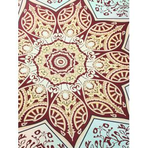 Lotus Flower Tablecloth Throw Tapestry Beach Throw -