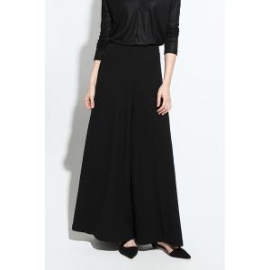 Zipper Fly Wide Leg Pants
