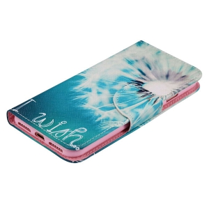 Dandelion PU Wallet Design Phone Case For iPhone 7 -