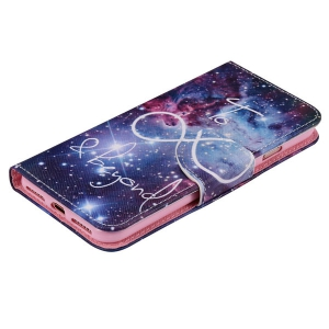 For iPhone 7 Plus Starry Sky PU Wallet Design Phone Case -