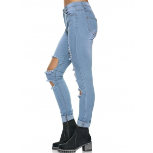 Casual Do Old Ripped Jeans -