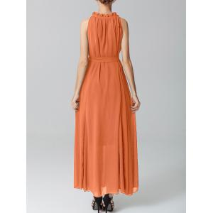Belted Maxi Dress -