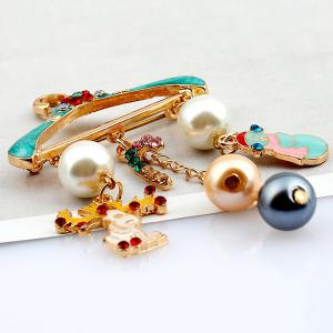 how to make pearl hangers