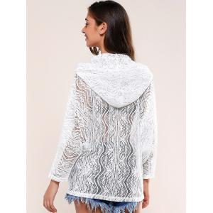 Pockets Design Lace Hoodie -