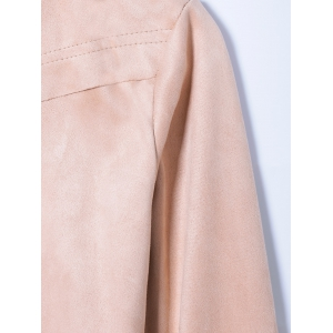 Bordée Suede Jacket -