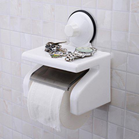 Sale Durable Vacuum Strong Suction Cup Toilet Roll Paper Holder