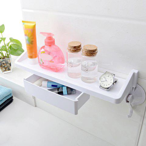 New Wall Mounted Suction Cup Kitchen Bathroom Shelf Holders