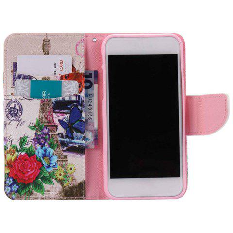 Shops Wallet Design Tower Flower Pattern Phone Case For iPhone 7 - COLORMIX  Mobile