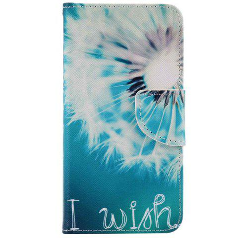 Fashion Dandelion PU Wallet Design Phone Case For iPhone 7