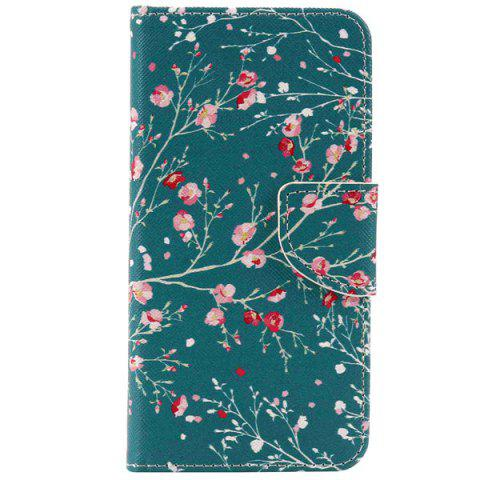 Fashion Wallet Design Spring Blossom Pattern Phone Case For iPhone 7